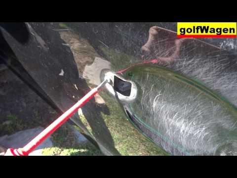 VW Golf 5 - how to replace front door lock change