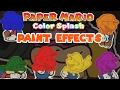 All Paint Effects - Paper Mario: Color Splash