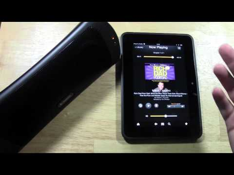 Kindle Fire HD: How to Connect a Bluetooth Device (Speaker)​​​ | H2TechVideos​​​