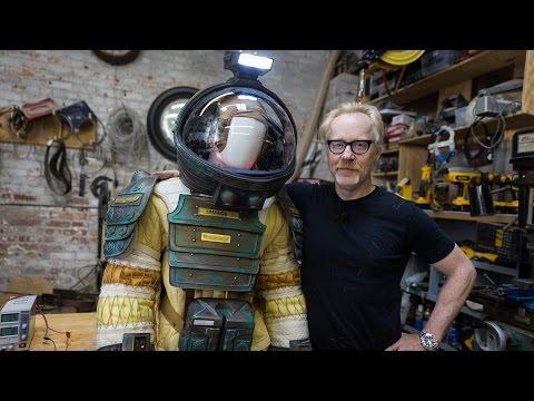Adam Savage's Alien Spacesuit