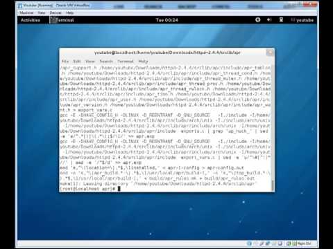 Installing apache, Php and mysql from source code on Linux