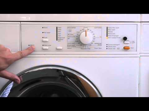 Read Fault Codes / Enter Service Mode Miele W320 Novotronic Washing Machine