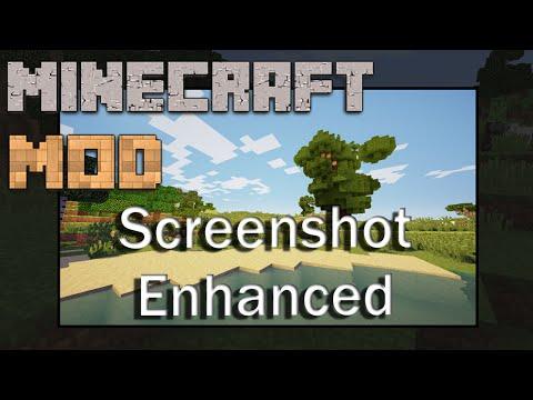 Minecraft Mods 1.8 : Screenshot Enhanced - ITA
