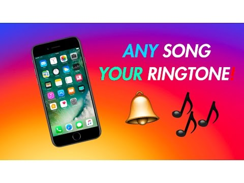 HOW TO MAKE ANY SONG YOUR RINGTONE FOR FREE!!!