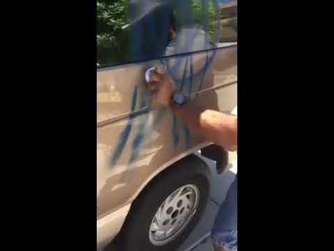 DIY spray paint removal