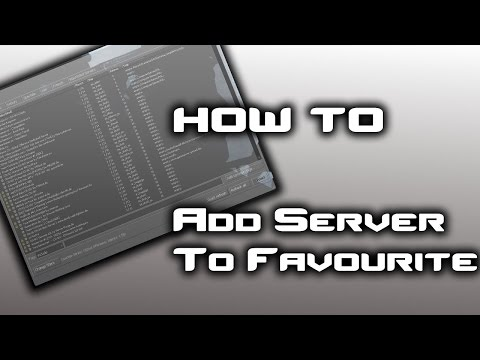 How To : Add Server In Favorites In CS:GO