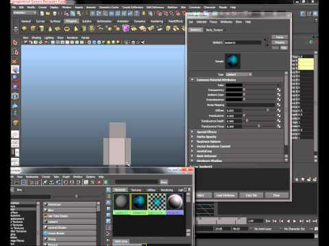 Autodesk maya Tutorial: Minecraft Character Part 1