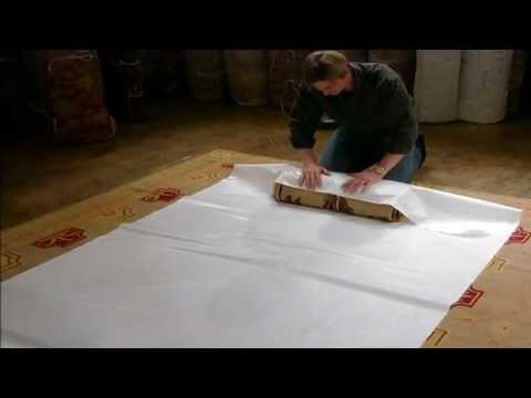 Tyvek RugWrap and Supplies for Carpet Shipping and Storage from Material Concepts