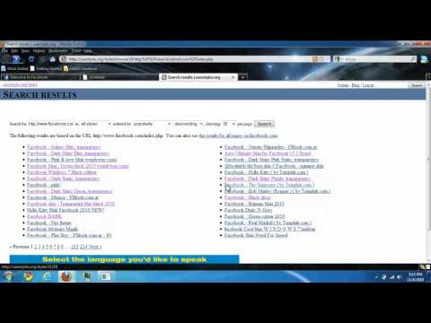 How to Change Facebook Theme (Firefox Add-On) EASY!!