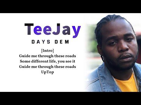 TeeJay (Uptop Boss) – Uptop Boss (lyrics video)