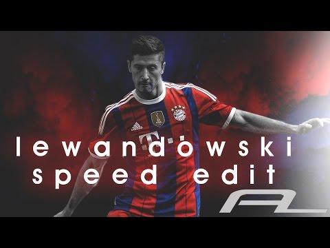 Robert Lewandowski Football Edit - Photoshop Design