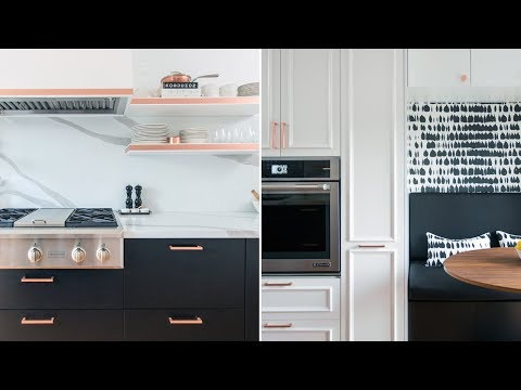 Room Tour: Parisian-Inspired Kitchen Makeover