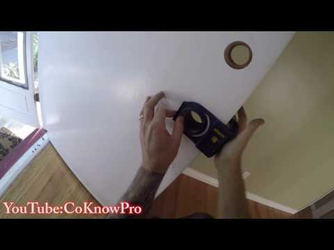How to Replace Entry Door Knob and Deadbolt by CoKnowPro (YouTube)