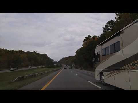 Driving on I-84 from Danbury,Connecticut to Fishskill,New York