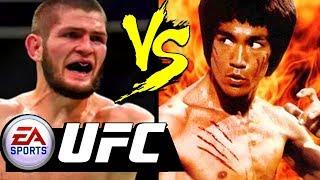 BRUCE LEE Vs KHABIB Nurmagomedov / EA SPORTS UFC Khabib Nurmagomedov