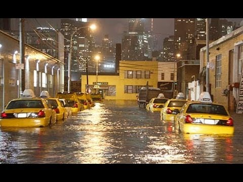 Hurricane Sandy Coverage Ignores Global Warming & Climate Change