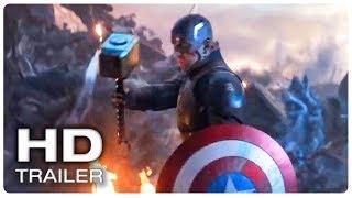 Download AVENGERS 4 ENDGAME Captain America Lifts Thor's Hammer Mjolnir Trailer (NEW 2019) Superhero Movie HD Video