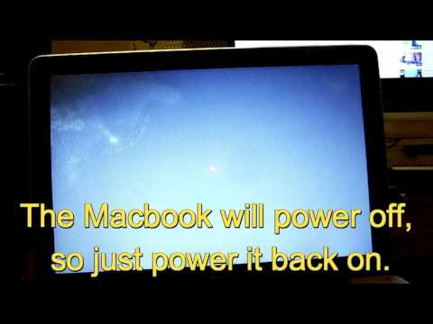Reset a Macbook A1278 to Factory Settings