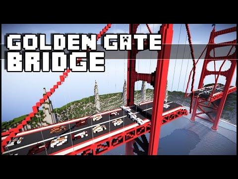 Minecraft - The Golden Gate Bridge Disaster!