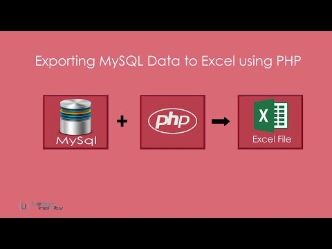 Exporting MySQL Data to Excel using PHP - Learn Infinity