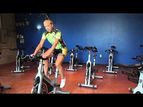 How to Build Leg Strength Riding a Bicycle : Biking & Indoor Cycling Tips