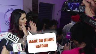 SHOCKING Aishwarya Rai IGNORES And Leaves On MeToo Questions Asked By Media