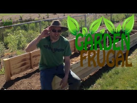 The easiest way to fill your raised garden beds with soil