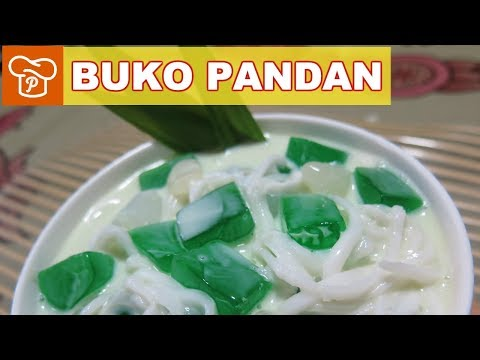 How to Make Buko Pandan Salad - Panlasang Pinoy Easy Recipes