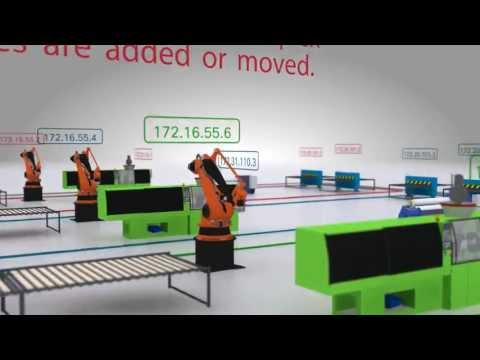 Network Address Translation (NAT) with Allen-Bradley Stratix 5700 Managed Switch