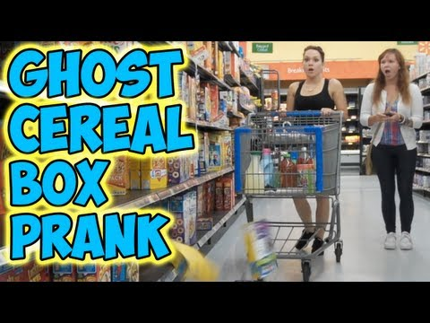 Ghost Cereal Box Prank