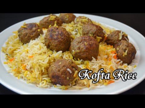 Kofta Rice