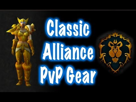 Classic Alliance PvP Gear Transmog Guide (World of Warcraft)