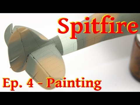 Model Spitfire Mk. Vb - 1/48 Airfix - Painting