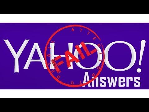Funny Yahoo Questions - Dumb Yahoo Answers
