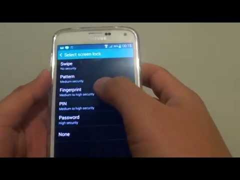 Samsung Galaxy S5: Fix Issue With Cannot Remove PIN or Password