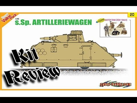 1/35 Review: s.Sp. Artilleriewagen 9120 by Dragon/Cyberhobby