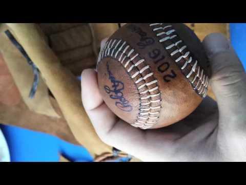 Homemade baseball