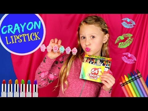 Crayon Lipstick: DIY Making Colorful Lipstick Makeup
