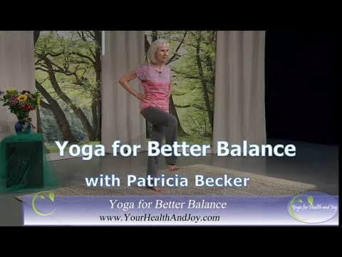 Yoga for Better Balance - Keep Your Balance as You Age