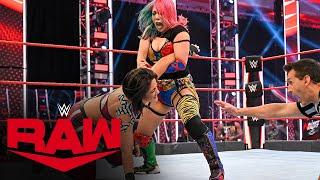 Asuka vs. Bayley – Champion vs. Champion Match: Raw, July 6, 2020