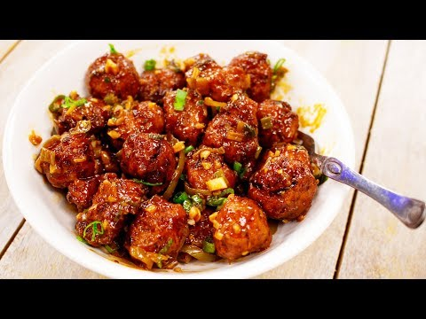 Cabbage Manchurian Recipe | Restaurant Style Veg Manchuria - Indo Chinese CookingShooking