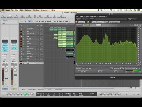 Hardstyle kick in progress, with logic pro 9