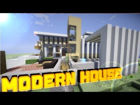 Minecraft PE Modern House World of Keralis ! [DOWNLOAD]