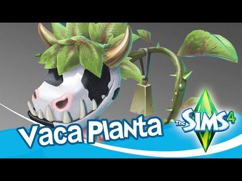 Los Sims 4 -  Como obtener la VACA PLANTA (COWPLANT)