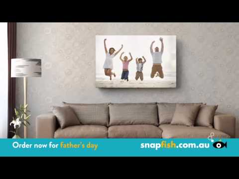 Snapfish Father's Day TV Offer