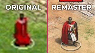 Age of Empires 2 – Original vs Definitive Edition Remaster Graphics Comparison