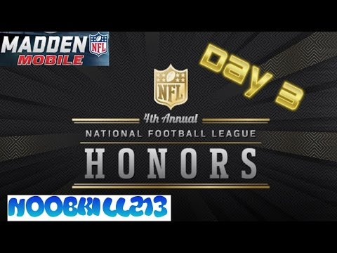 Madden Mobile Honors Day 3