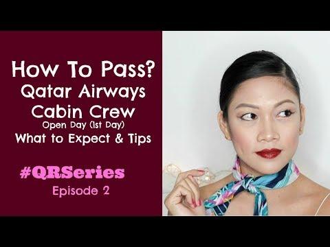 Qatar Airways Cabin Crew Interview Tips Day 1  MISSKAYKRIZZ (Philippines)
