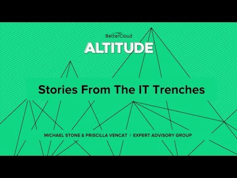 Altitude 2018: Stories from the IT Trenches