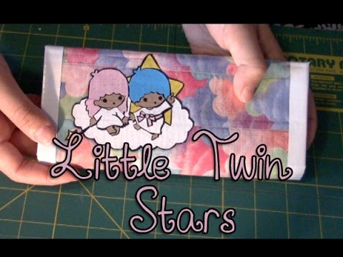 Little Twin Stars Duct Tape Wallet Timelapse